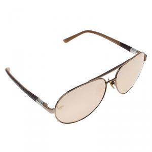 Chopard Brown SCH8800 Aviator Sunglasses
