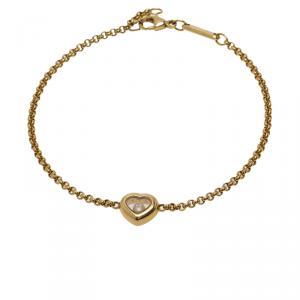 Chopard Miss Happy Diamond Yellow Gold Bracelet