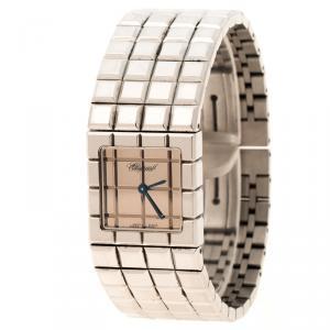 Chopard Stainless Steel Ice Cube Women's Wristwatch 22 mm