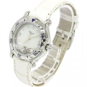 Chopard Mother of Pearl Happy Sport Women's Wristwatch 32MM