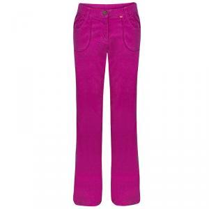 Christian Lacroix Pink Corduroy Trousers S/M