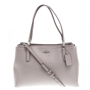 Coach Grey Leather Christie Tote