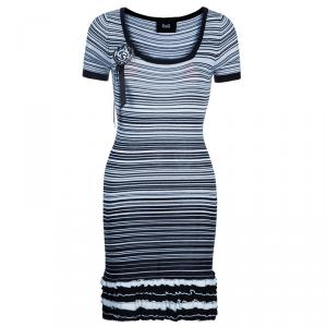 D and G Monochrome Knit Dress S