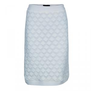Derek Lam White Crochet Skirt S
