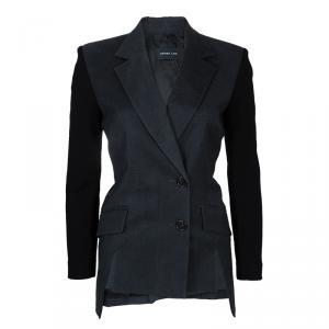 Derek Lam Contrast Sleeve Wool Jacket M