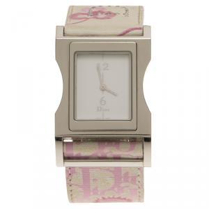 Dior White Stainless Steel Chris 47 Women's Wristwatch 30MM