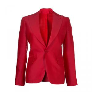 DSquared2 Red Notched Collar Blazer M