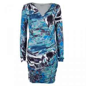 Emilio Pucci Multicolor Long Sleeve Dress M