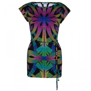Emilio Pucci Multicolor Belted Print Top S