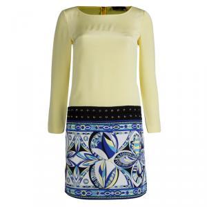 Emilio Pucci Multicolor Silk Shift Dress S