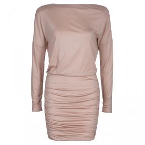 Emilio Pucci Blush Pink Long Sleeve Dress S