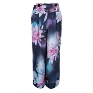 Emporio Armani Floral Print Pants S
