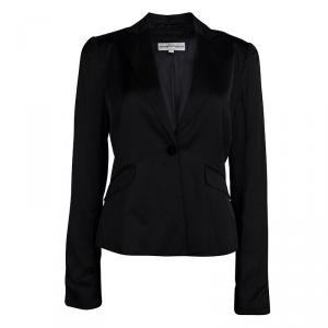 Emporio Armani Black Tailored Blazer M