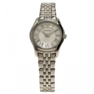 Emporio Armani Silver Stainless Steel AR1716 Women's Wristwatch 27MM