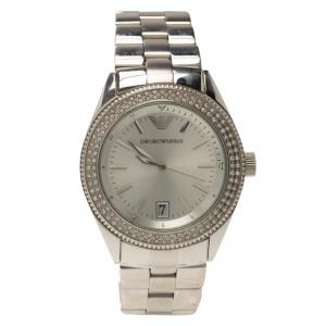 Emporio Armani AR-5781 Stainless Steel & Crystal Women's Wristwatch 39MM