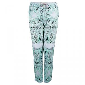 Etro Printed Tapered Pants L