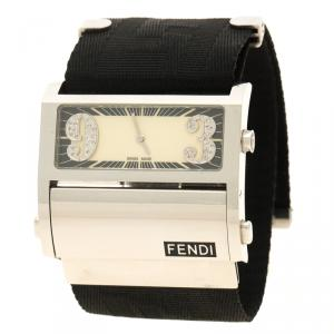 Fendi Cream Stainless Steel Orologi 1120G  Women's Wristwatch 45 mm