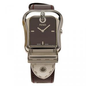 Fendi Purple Stainless Steel B. Fendi Women's Wristwatch 32MM