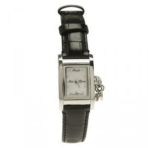 Fendi Mother of Pearl Stainless Steel Orologi F711241 Women's Wristwatch 21MM