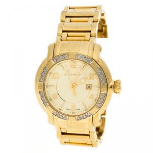 Givenchy Yellow Gold Stainless Steel  GV5202 Women's Wristwatch 36 mm