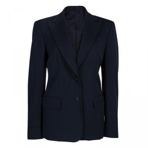 Gucci Navy Blue Wool Blazer M