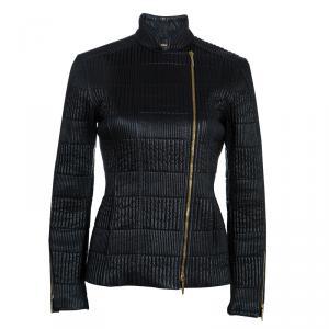 Gucci Black Leather Jacket M