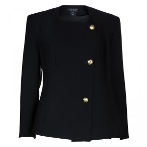 Gucci Black Double Breasted Wool Jacket M