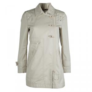 Gucci Beige Toggle Button Jacket S