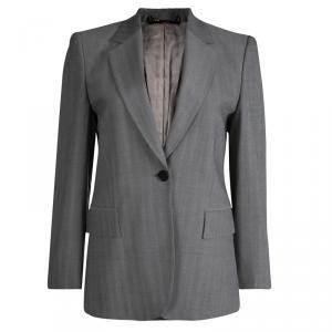 Gucci Grey Cotton Blazer M