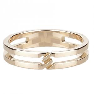Gucci Infinity Rose Gold Ring Size 52