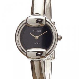 Gucci Black Stainless Steel 1400L Women's Wristwatch 12MM