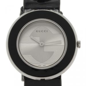 Gucci Silver Stainless Steel U-Play Women's Wristwatch 35MM