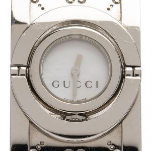 Gucci White Stainless Steel Twirl Women's Wristwatch 22MM