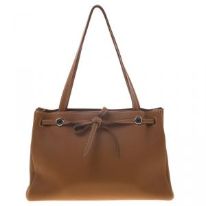 Hermes Brown Togo Leather Kabana Tote
