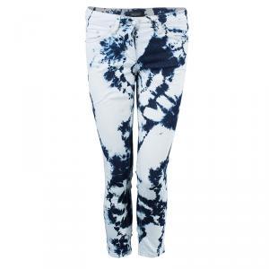 Isabel Marant Tie-Dye Cropped Jeans S