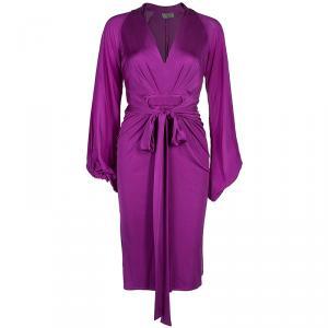 Issa Purple Silk Dress S