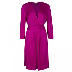 Issa London Pink Long Sleeve Dress L