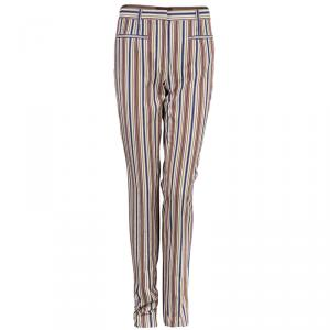 Kenzo Striped Casual Pants M