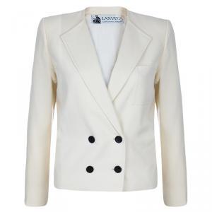 Lanvin Off-white Wool Short Jacket M