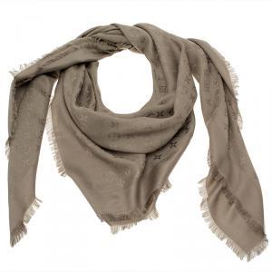 Louis Vuitton Monogram Verone Wool and Silk Shawl