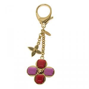 Louis Vuitton Multicolor Bee Fleur Bag Charm