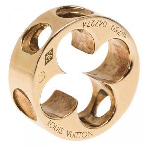 خاتم لوي فيتون أمبرينت ذهب وردي عيار 18