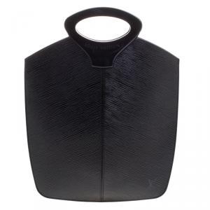 حقيبة لوي فيتون نوكتامبول جلد إيبي أسود