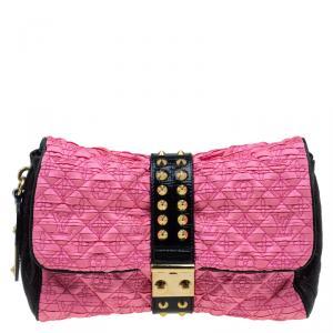 حقيبة يد صغيرة لوي فيتون كوكيت إصدار محدود مونوغرامي أسود/ وردي