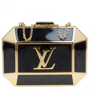 Louis Vuitton Brown/Gold Minaudiere Bijou Evening Bag