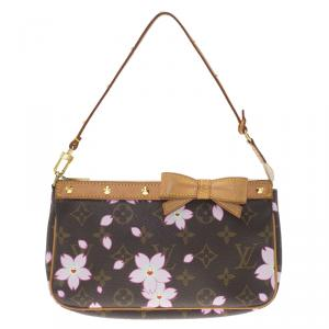 Louis Vuitton Monogram Canvas Cherry Blossom Pochette Accessories