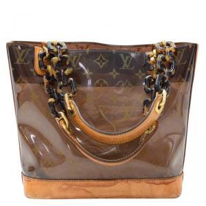 حقيبة لوي فيتون أمبر إصدار محدود فينيل مونوغرامي PM