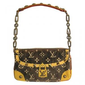 Louis Vuitton Limited Edition Trompe L'oeil Pochette Accessories Bag