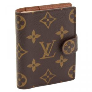 Louis Vuitton Monogram Canvas Agenda