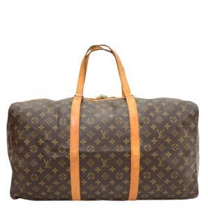 Louis Vuitton Monogram Canvas Sac Souple Travel Bag 55